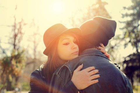Winter, Jacket, People in nature, Sunlight, Love, Lens flare, Sun hat, Portrait photography, Backlighting,