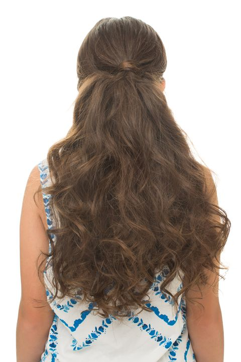 Brown, Hairstyle, Shoulder, Back, Style, Long hair, Beauty, Brown hair, Neck, Liver,