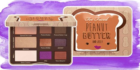 Brown, Purple, Violet, Lavender, Eye shadow, Magenta, Tints and shades, Rectangle, Cosmetics, Square,