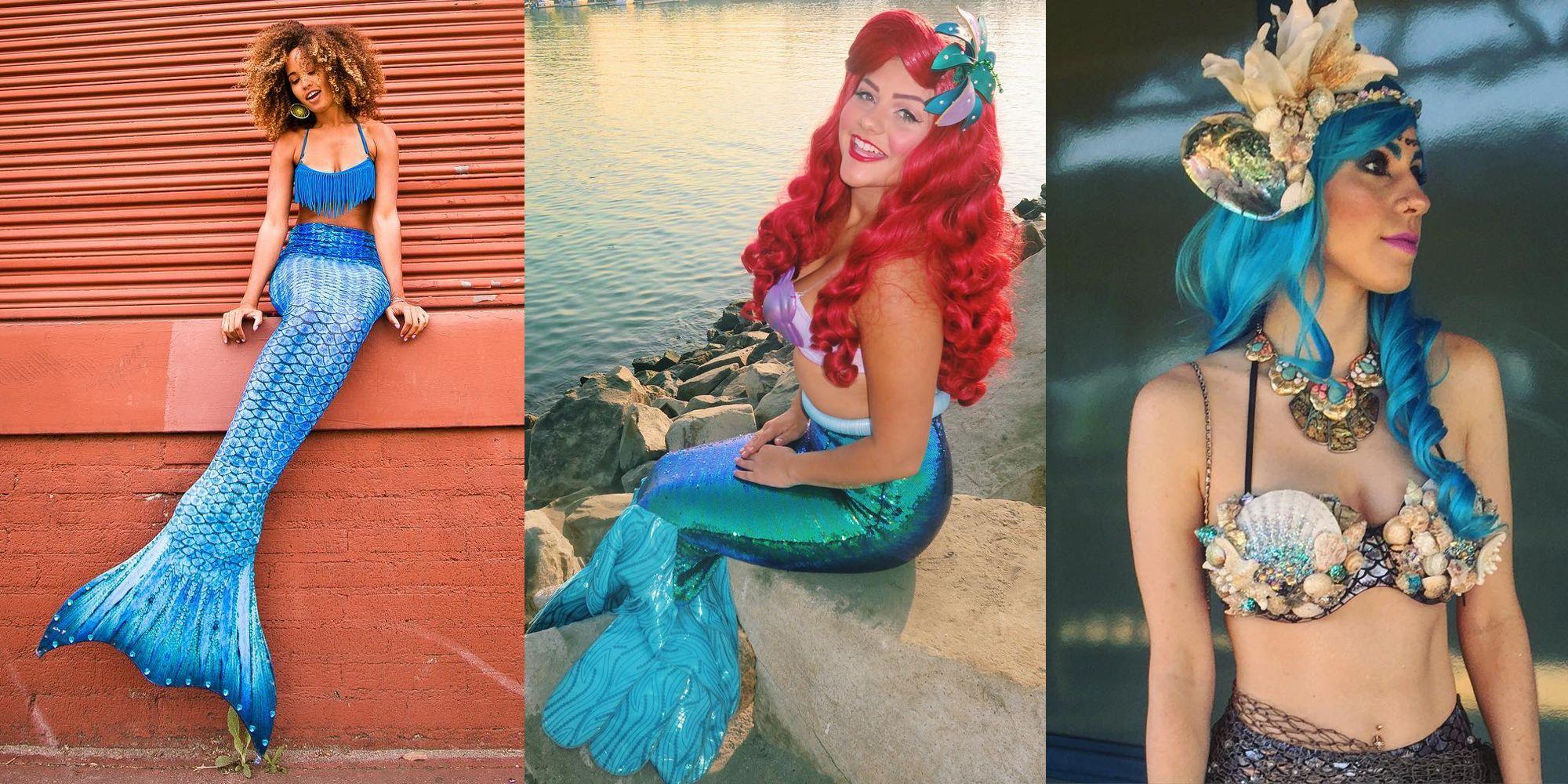 16 diy mermaid costumes mermaid costume 2016