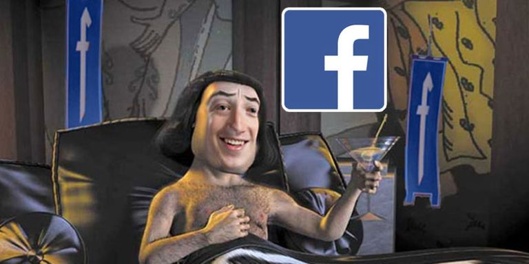 logo facebook shrek