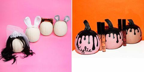 Audio equipment, Squash, Calabaza, Pink, Pumpkin, Vegetable, Audio accessory, Winter squash, Headphones, Peach,