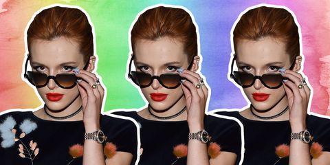 Eyewear, Vision care, Hairstyle, Eyebrow, Fashion accessory, Earrings, Eyelash, Style, Fashion, Cool,