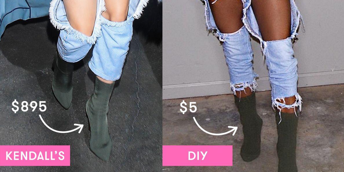Socks Over Heels - Yeezy Sock Boot DIY