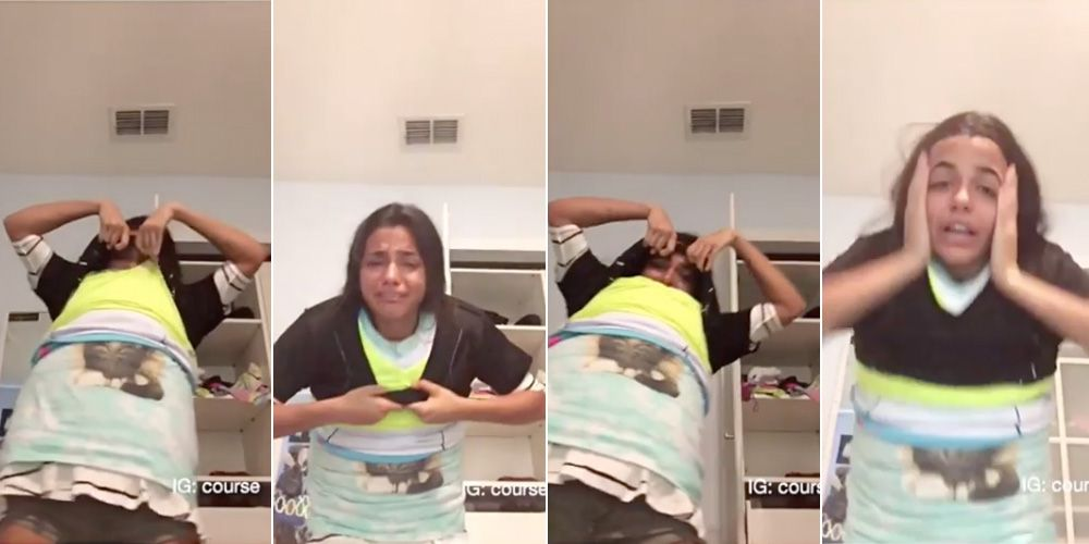 This Viral Vid of a Girl Doing the 100 Layer Challenge With T ...