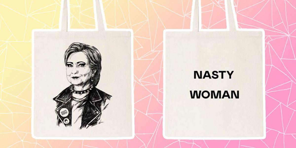 Nasty Gal Hillary Clinton Bag - Nasty Woman Merchandise-4448