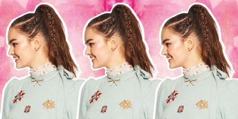 Hair, Head, Ear, Smile, Hairstyle, Sleeve, Collar, Earrings, Style, Uniform,