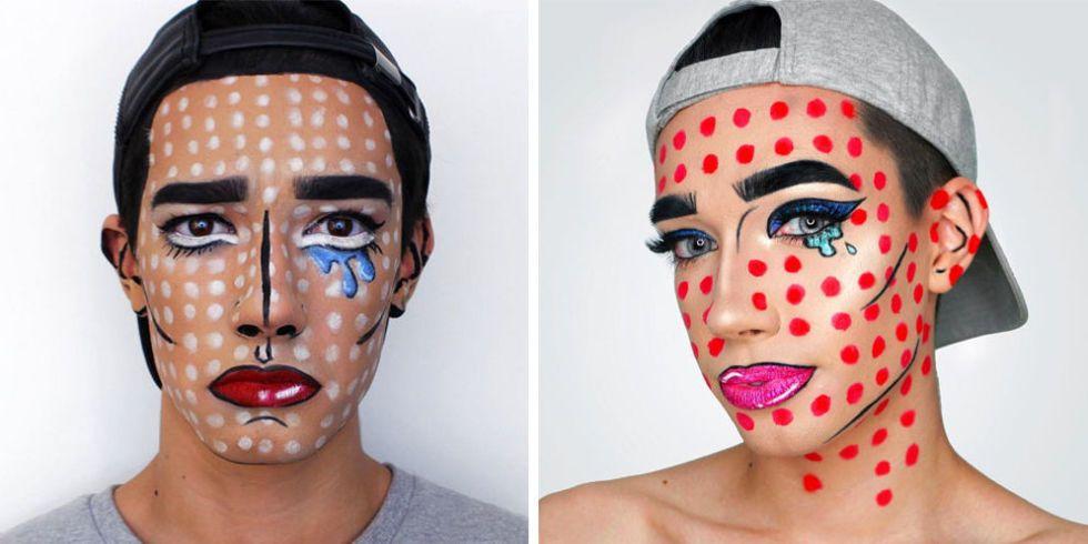 James Charles Halloween Makeup Pop Art Makeup Ideas