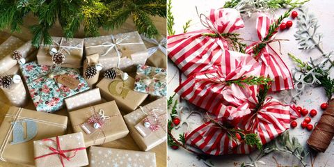 How to wrap a gift - gift wrap hacks