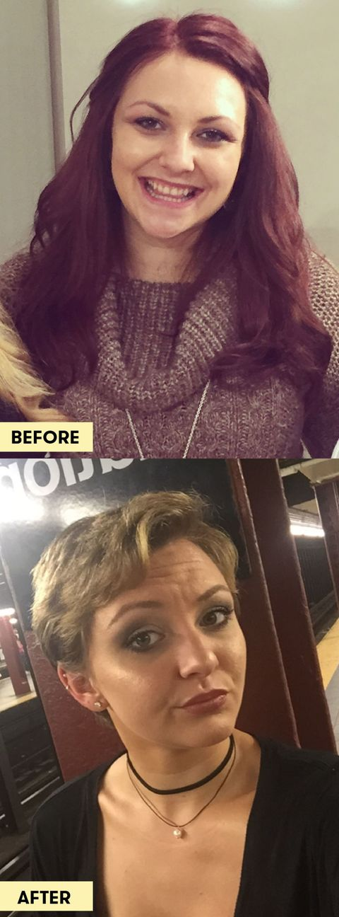 10 Girls Before And After Cutting Their Hair Short Vs Long Hair Pictures