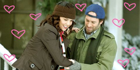 Clothing, Winter, Jacket, Cap, Sleeve, Textile, Outerwear, Happy, Facial expression, Interaction,