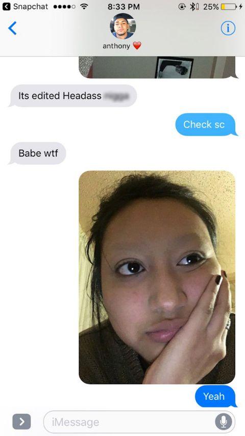Girl Pranks Boyfriend With Eyebrow Hack Girl Pretends She Shaved Brows