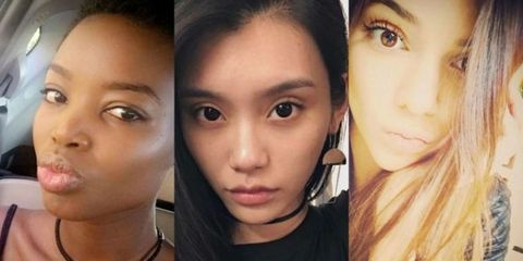 Lip, Cheek, Brown, Eye, Hairstyle, Skin, Chin, Forehead, Eyelash, Eyebrow,