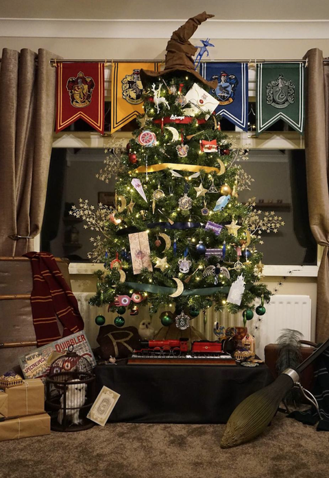 Harry Potter Christmas Tree Harry Potter Christmas Decorations