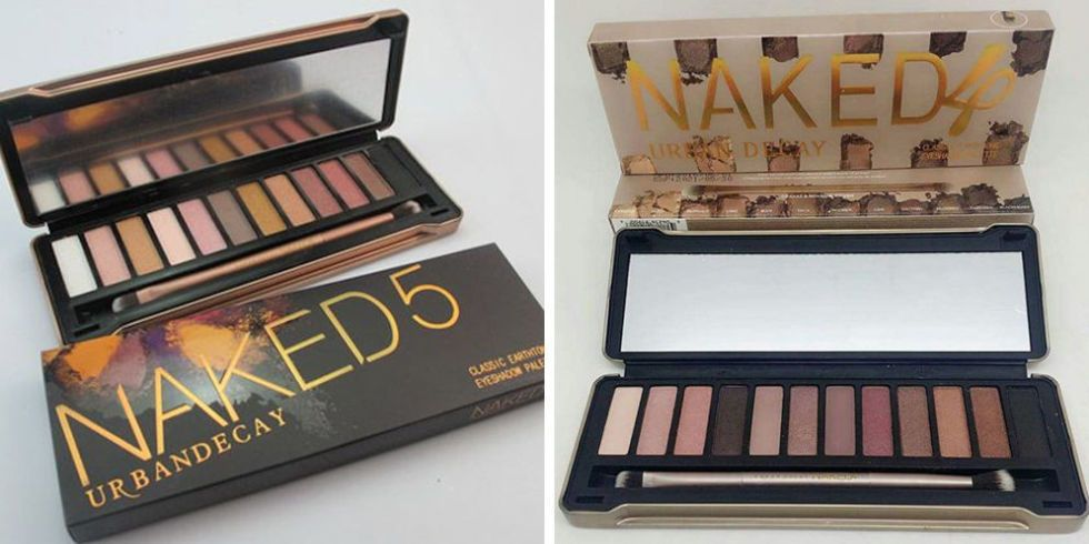 Fake Naked 5 Palette - Urban Decay Eyeshadow Palettes-9877