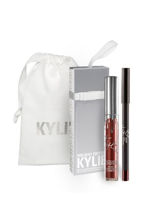 """<p>In the viral beauty wars that were 2016, Kylie was, well, you know, king. While all her launches have been met with similar fervor, the lip kit craze hit peak Google search volume and crashed her site in late March, just as she restocked her shades for the second time. </p><p><em data-verified=""""redactor"""" data-redactor-tag=""""em"""">Kylie Cosmetics Matte Liquid Lip Kit</em><span class=""""redactor-invisible-space"""" data-verified=""""redactor"""" data-redactor-tag=""""span"""" data-redactor-class=""""redactor-invisible-space"""">,&nbsp;<em data-verified=""""redactor"""" data-redactor-tag=""""em"""">$29;&nbsp;<a href=""""https://www.kyliecosmetics.com/collections/matte-lip-kits-gift-bag"""" data-tracking-id=""""recirc-text-link"""">kyliecosmetics.com</a></em></span><br></p>"""