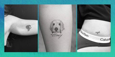 Tattoo, Pattern, Carnivore, Temporary tattoo, Visual arts, Illustration, Dog breed, Drawing,