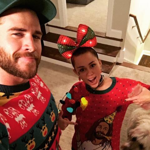 image instagram miley cyrus - Miley Cyrus Christmas