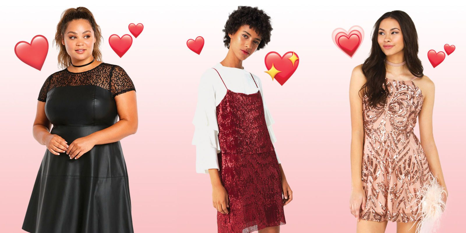 ... Skip The All Over Hearts And Go For Unexpected Details, Like Raw Edged  Lace And Flirty Cutouts. Update Your Valentineu0027s Style With These Hot  Dresses ...