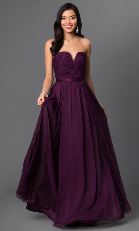 36 Pretty Purple Prom Dresses of 2018 in Every Shade From ...