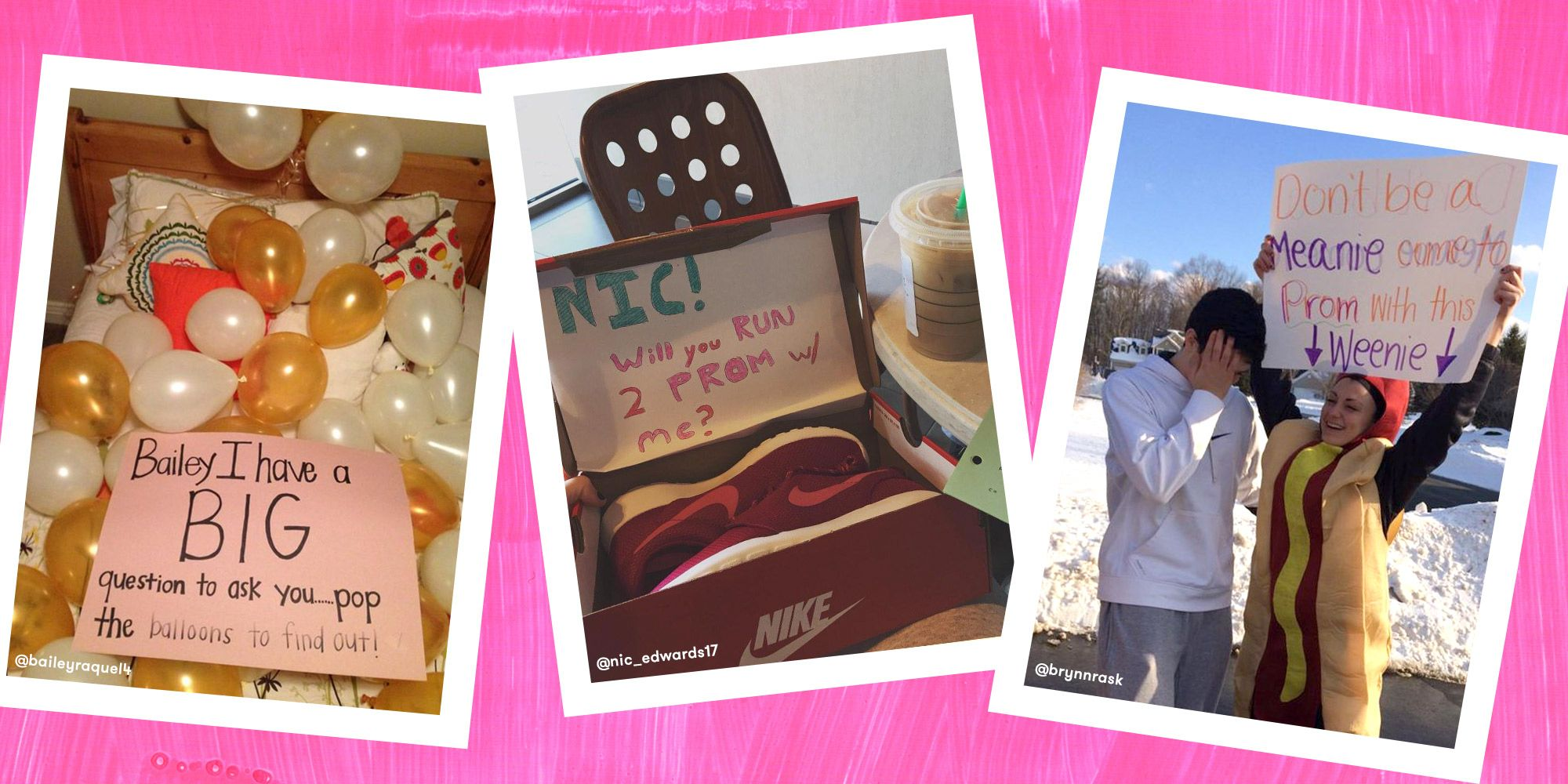 14 Adorable New Ways To Ask Someone To Prom  How To Ask A Girl To Prom