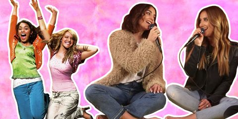 Microphone, Mouth, Sitting, Thigh, Singing, Long hair, Lap, Singer, Abdomen, Makeover,
