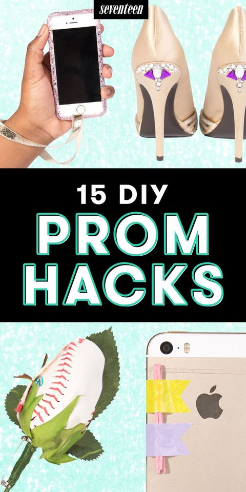 15 Amazing Prom Hacks To Make It Your Most Stylish Night Ever