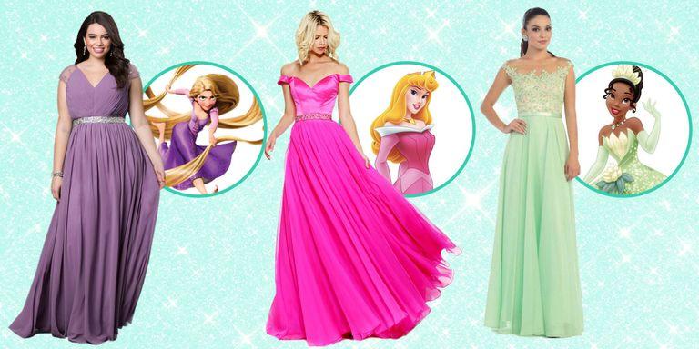 6 Princess Dresses for Prom - Disney Princess Prom Dresses
