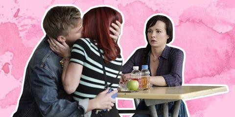 Pink, Drink, Tableware, Interaction, Sharing, Drinkware, Love, Romance, Conversation, Bottle,