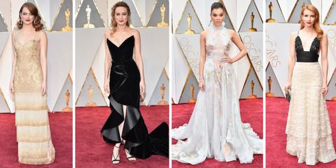 2017 Oscars Best Dressed