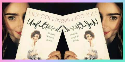 check out 00d3f 6b11d Lily Collins: 17 Things I Wish I'd Known When I Was 17