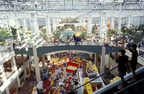 Building, Crowd, Shopping mall, Architecture, City, Tourism,