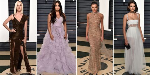 2017 Oscars Vanity Fair After-Party Red Carpet