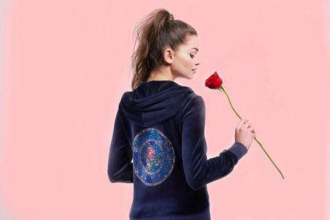Shoulder, Red, Lip, Joint, Arm, T-shirt, Neck, Recreation, Plant, Flower,