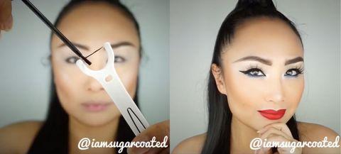 Nose, Lip, Cheek, Brown, Hairstyle, Skin, Eyelash, Chin, Forehead, Eyebrow,