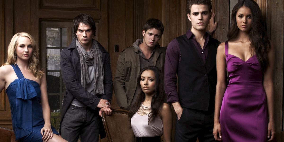 The vampire diaries characters dating in real life