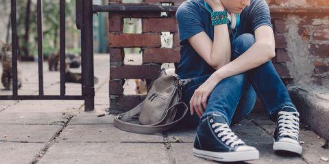 Footwear, Shoe, Blue, Street fashion, Ankle, Sitting, Fashion, Jeans, Plimsoll shoe, Sneakers,