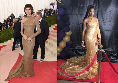 Red carpet, Carpet, Dress, Flooring, Fashion, Hairstyle, Gown, Haute couture, Fashion model, Premiere,