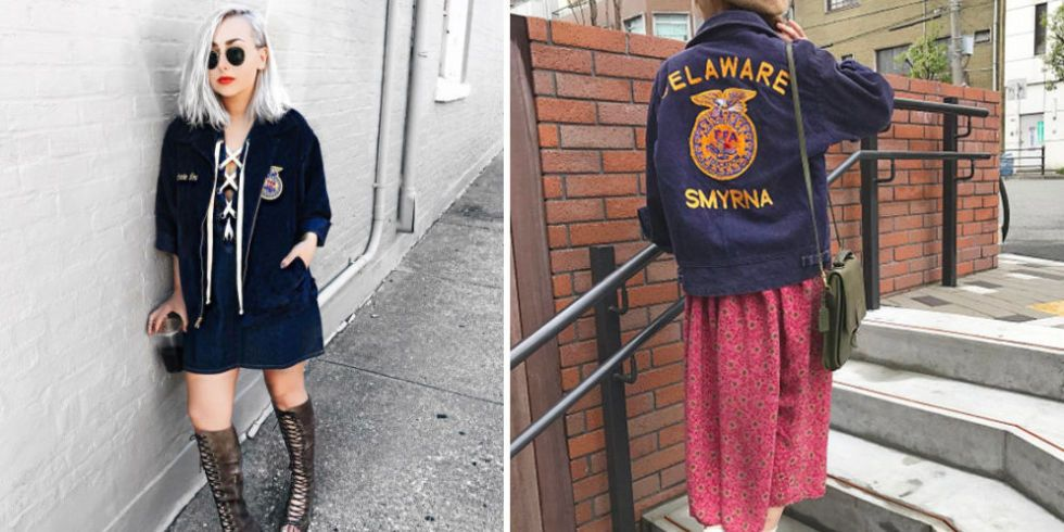 Your Old Ffa Jacket Is Now Trendy