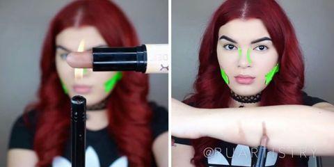 Hair, Face, Red, Red hair, Lip, Eyebrow, Hair coloring, Head, Skin, Beauty,