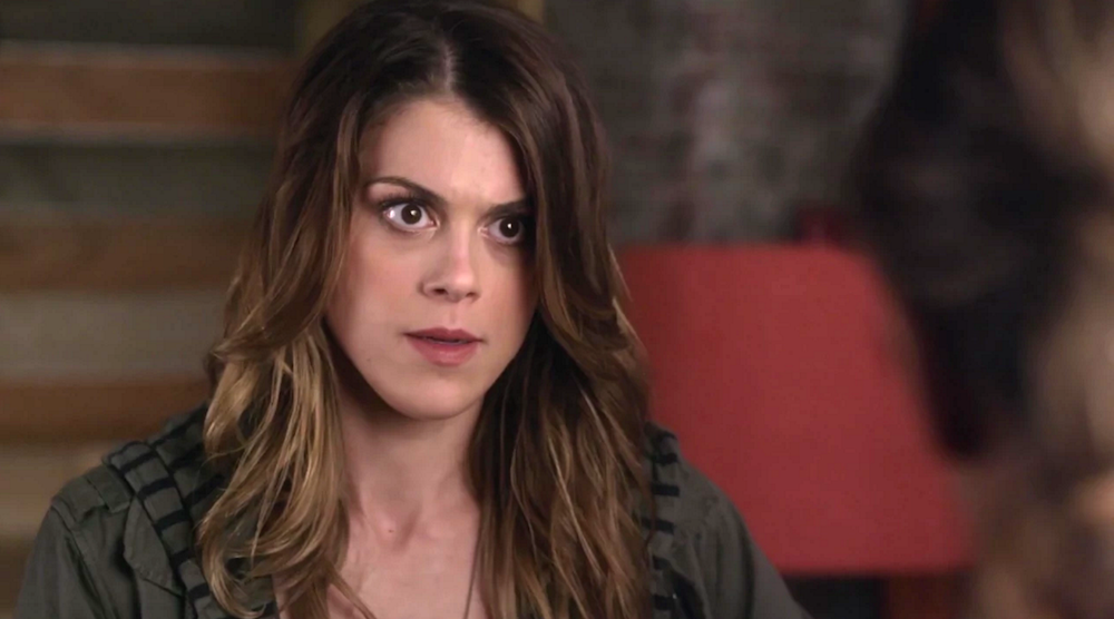 Paige McCullers,Pretty Little Liars said homophobic things to Emily then ended up kissing her.
