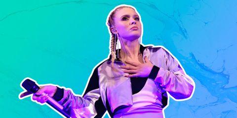 Purple, Performance, Fun, Performing arts, Electric blue, Gesture,