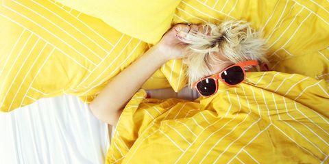 Yellow, Orange, Peach, Ear,