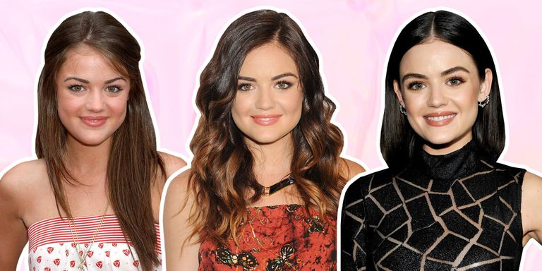 21 Best Lucy Hale Hairstyles - Lucy Hale Hair Transformation Timeline
