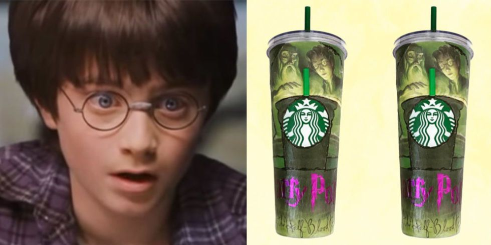 Diy Harry Potter And The Half Blood Prince Starbucks Cup