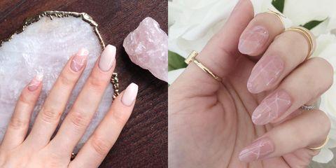 Nail, Finger, Nail care, Manicure, Nail polish, Skin, Cosmetics, Pink, Hand, Material property,