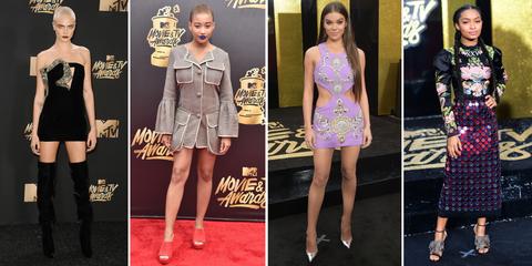 MTV Movie And TV Awards 2017 Best Dressed