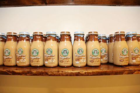 Starbucks bottled Frappuccinos