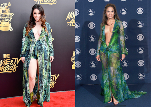 jillian rose reed totally rocked jennifer lopezs scandalous grammys look