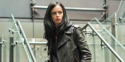 Leather, Jacket, Leather jacket, Street fashion, Fashion, Outerwear, Lip, Textile, Black hair, Top,